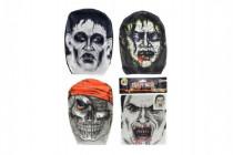 Maska látková v sáčku 18x26cm karneval - mix variant či barev