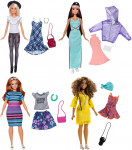 Mattel Barbie Modelka s oblečky a doplňky - mix variant či barev