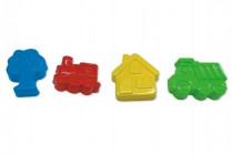 Formičky Bábovky na písek plast 16cm 12m+ Wader - mix variant či barev