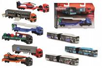 Autobus nebo nákladní auto, kovové - mix variant či barev