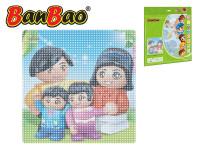 BanBao stavebnice základní deska 38,5x38,5 cm transparentní