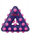 Hračka pes KONG Dotz trojúhelník S