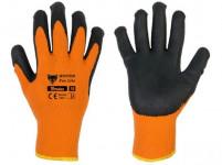 rukavice WINTER FOX LITE 9 latex - VÝPRODEJ