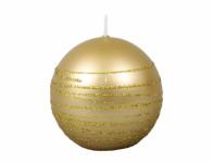 Svíčka vánoční ANDROMEDA KOULE d6cm