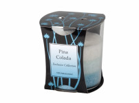 Svíčka ve skle DUHA - PINA COLADA stearinová vonná
