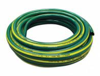 Hadice GARDENIE 1 zelená se žlutými pruhy, černá duše 25m