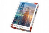 Puzzle New York při svítání 1000 dílků