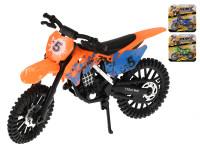 Motorka terénní 18 cm volný chod - mix barev