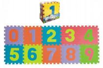 Pěnové puzzle čísla 0-9 podložka