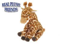 Žirafa plyšová 27 cm sedící