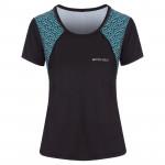 Spokey RAIN, fitness triko/T-shirt, krátký rukáv, černé, vel. S