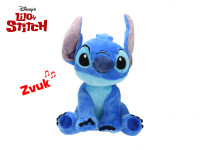 Lilo a Stitch - Stitch plyšový 25 cm na baterie se zvukem