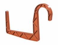 Držák truhlíku kulatý terakota 12cm 2ks