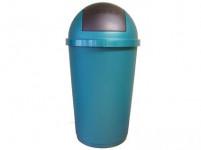 koš odpadkový výklopný 40l kulatý plastový - mix barev
