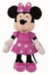 Disney plyš 22cm Minnie růžové šatičky