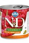 N&D DOG QUINOA Herring & Coconut 285g