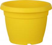 Květináč Similcotto broušený - žlutý 25 cm
