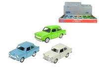 Trabant 11 cm kov zpětný chod - mix barev