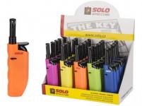 zapalovač SOLO 12cm plamínkový - mix barev