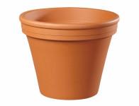 Květník KLASIK keramický terakota 6/7x6cm