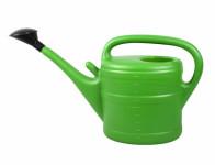 Konev s růžicí plastová zelená 10l