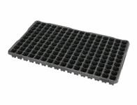 Sadbovač MINI JP plastový černý 2,5x2,5cm 160ks