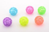 Míček se třpytkami svítící 6 barev