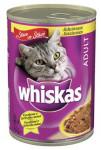 Whiskas konz. kuřecí ve šťávě 400 g
