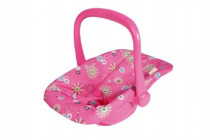 Nosítko autosedačka s látkovým potahem pro miminko/panenky plast