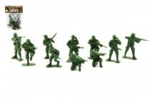 Sada vojáci plast CZ design na kartě 11,5x17cm