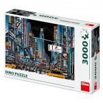 Puzzle 3000 dílků: Noční New York