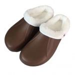 pantofle gumové zimní pánské vel. 40 (pár) - mix barev