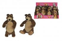 Máša a medvěd Plyšový medvěd 25 cm - mix variant či barev