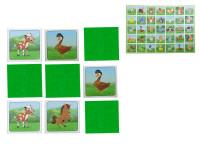 Pexeso Farma 64 karet ilustrovaná zvířátka