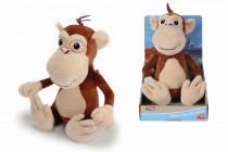 Statečná autíčka Plyšový opičák