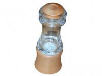 mlýnek na koření KLASIK 15cm akryl+dřev. přírodní
