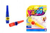 Kazoo plast 12cm - mix barev