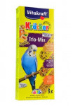 Vitakraft Bird Kräcker  hon/egg/fruit budgie tyč 3ks