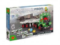 Malý konstruktér Profi Super Truck Tahač kov 867ks stavebnice