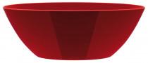Elho obal Brussels Diamond Oval - lovely red 46 cm - 6 ks