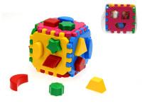 Kostka vkládací 12 cm geometrické tvary