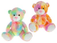 Medvěd plyšový 50 cm sedící - mix barev