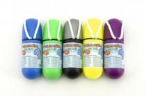 Pokladnička na krk se šňůrkou 11,5cm plast vodotěsná - mix barev