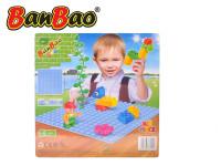 BanBao stavebnice Young Ones základní deska 25,5x25,5 cm modrá