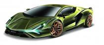 Bburago 1:18 TOP Lamborghini Sián fkp 37 - VÝPRODEJ