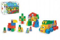Kostky stavebnice Middle Blocks plast Wader