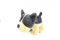 Mazlící plyšové zvířátko - Pes Big Mouth 2. 20 cm