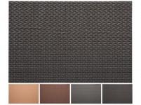 prostírání plastové, ZIGZAG 45x30cm 4 barvy - mix variant či barev