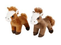 Kůň plyšový 13 cm - mix barev