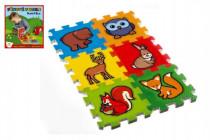 Pěnové puzzle Moje první lesní zvířátka 6ks MPZ
